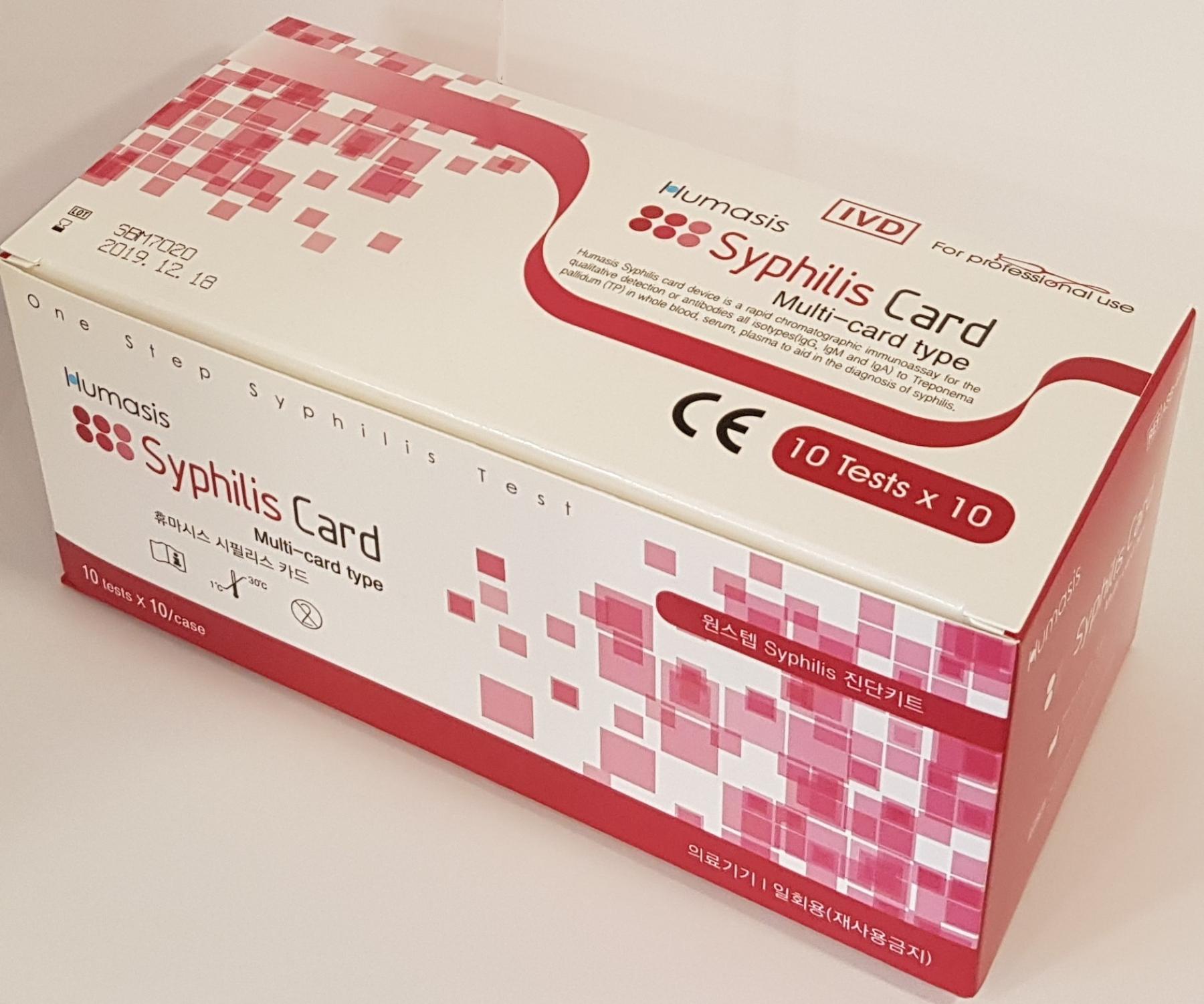 Humasis-Syphilis Card